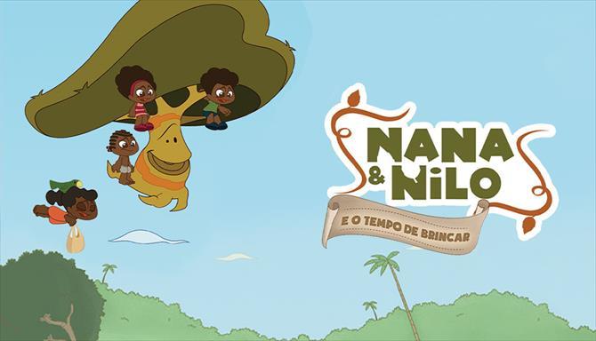 Nana e Nilo e o Tempo de Brincar