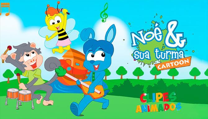Noé e Sua Turma Cartoon - Clipes Animados