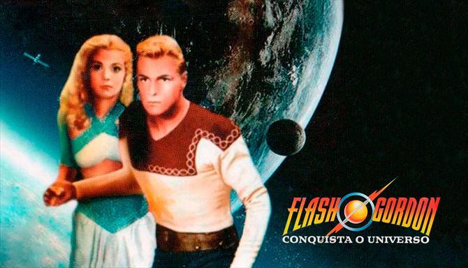 Flash Gordon Conquista o Universo