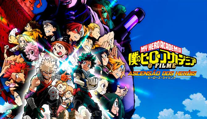 My Hero Academia: O Filme - Ascensão dos Heróis
