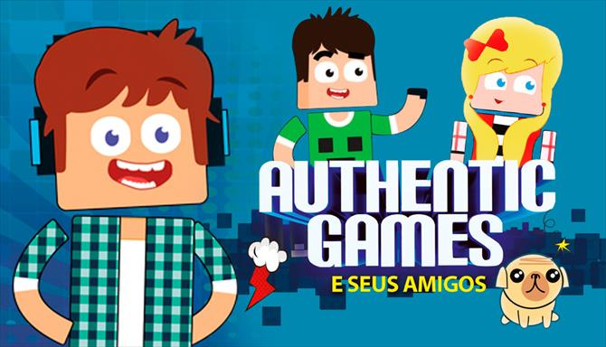 Authentic Games e Seus Amigos