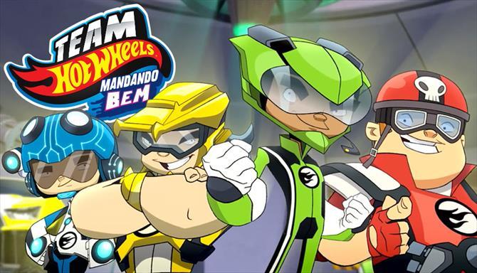 Team Hot Wheels - Mandando Bem
