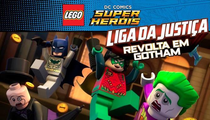 LEGO DC - Liga da Justiça - Revolta em Gotham