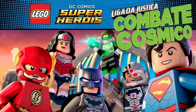 LEGO DC - Liga Da Justiça - Combate Cosmico