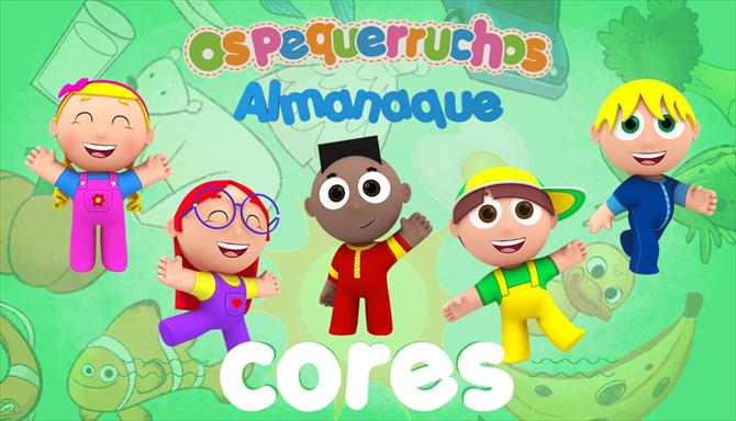 Almanaque dos Pequerruchos - Cores