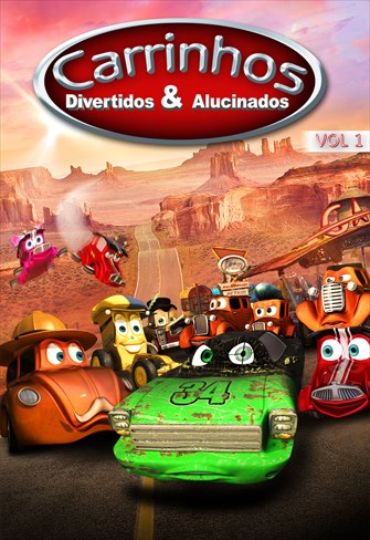Carrinhos Divertidos e Alucinados - Volume 1