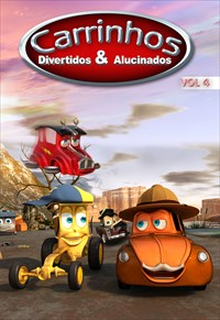Carrinhos Divertidos e Alucinados - Volume 4