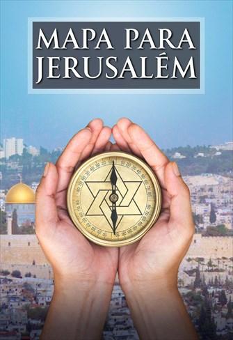 Mapa Para Jerusalém