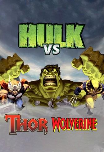 Hulk vs Thor - Hulk vs Wolverine