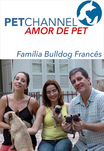 Amor de Pet - Família Bulldog Francês