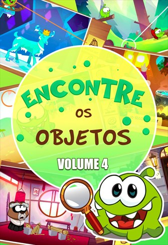 Encontre os Objetos - Volume 4