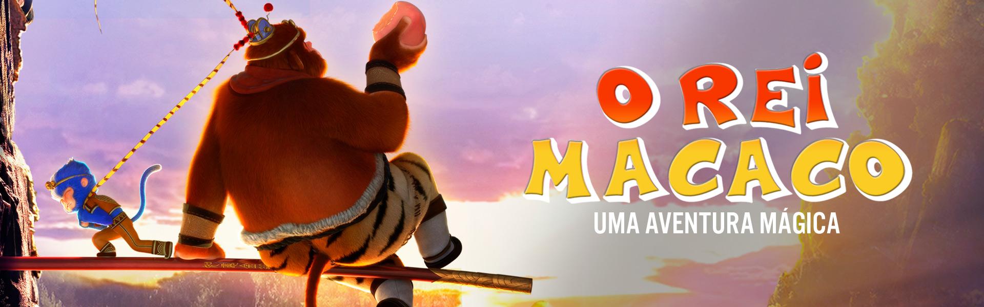 O Rei Macaco: Uma Aventura Mágica